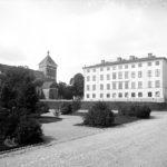 Dekanhuset i Uppsala där Rasbiologiska institutionen var inrättad